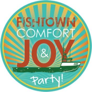 Fishtown Comfort & Joy Party raising money for Fishtown this Sunday!