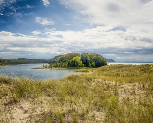 North Bar Lake in the Sleeping Bear Dunes National Lakeshore