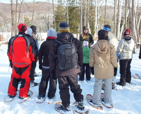 Sleeping Bear Dunes snowshoe hikes Saturdays AND Sundays this winter