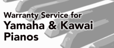 Warranty Service for Yamaha & Kawai Pianos
