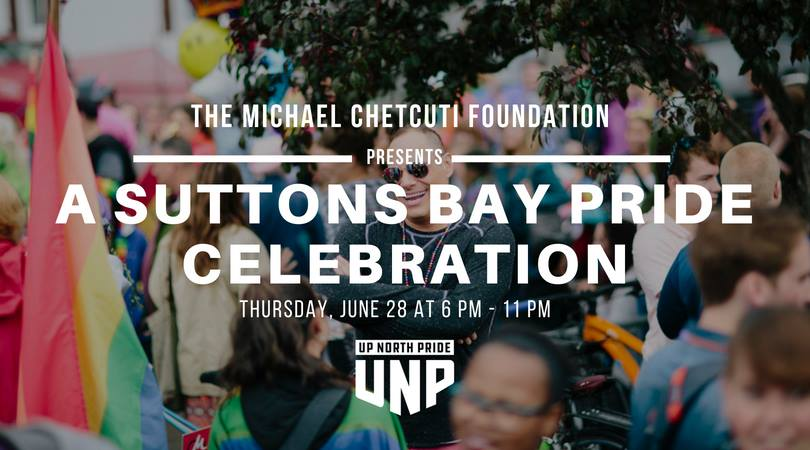 Suttons Bay Pride Celebration - Thursday, June 28