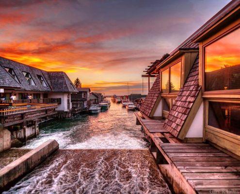 Summer Sunset in Fishtown