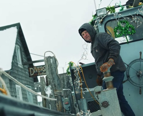 Leelanau guest stars in Carhart/Guinness commercial