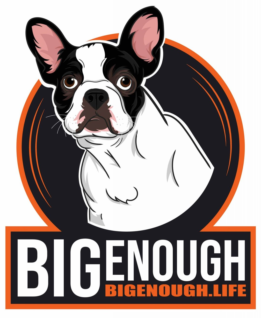 Big Enough Final Dog Illustration