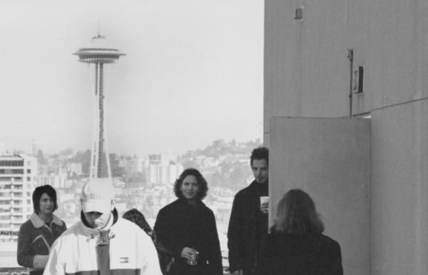 Eddie Vedder and Chris Cornell, March 26, 2000