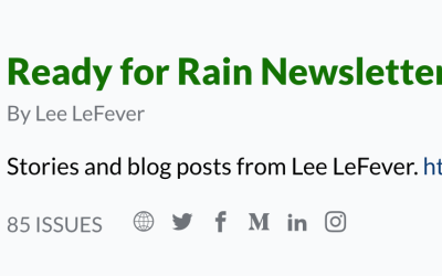 Moving the Ready for Rain Newsletter