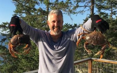 Crabbing in the Salish Sea 🦀