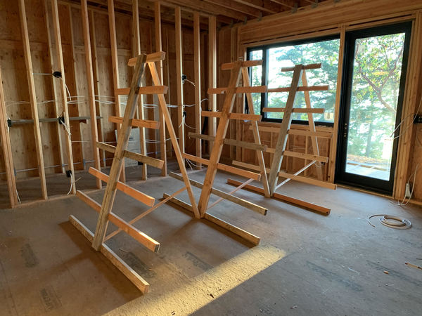 racks for staining and drying