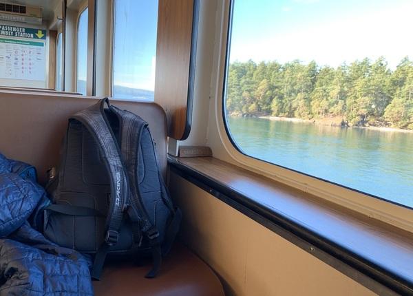 the passenger deck