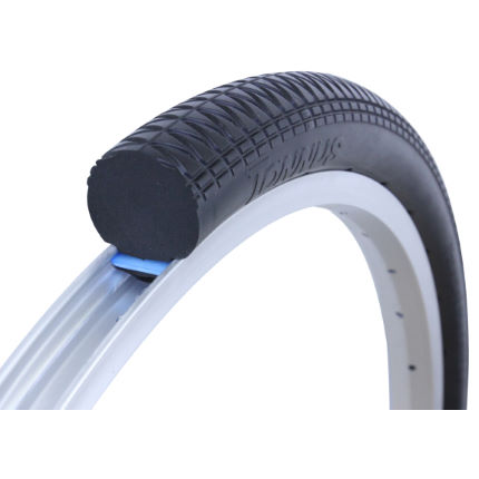 Tannus 20 x 1.50″ Solid Airless Tyre + Free Fitting