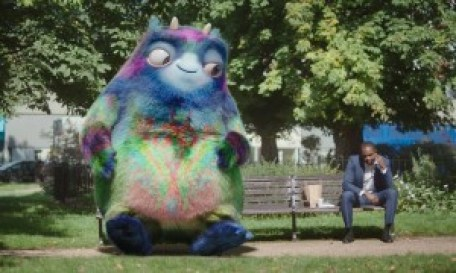 """The """"physical embodiment of the workplace pension"""" just so happens to be a big, pointless and fake CGI creature. Did nobody think of the potential link between the two? Or did they just see a big cute thing?"""