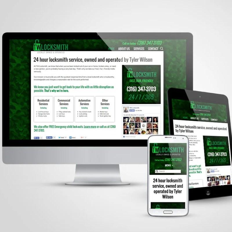 TW Locksmith New Website