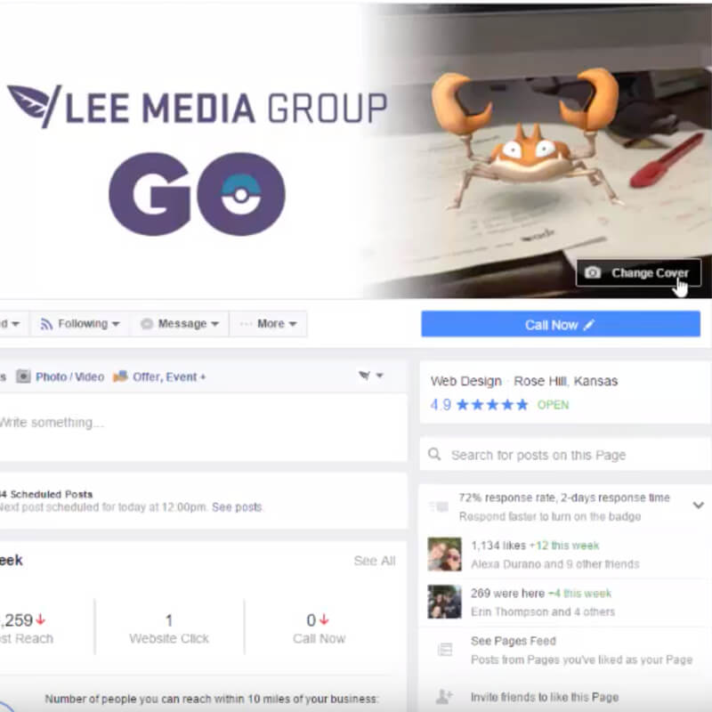 How to Change Your Business Page's Cover Photo on Facebook