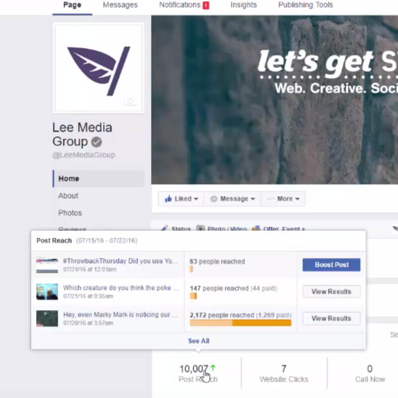 How to Track Post Views on Facebook   Lee Media Group