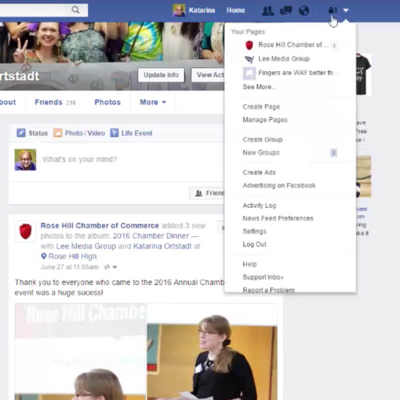 How to View Your Business Facebook Page
