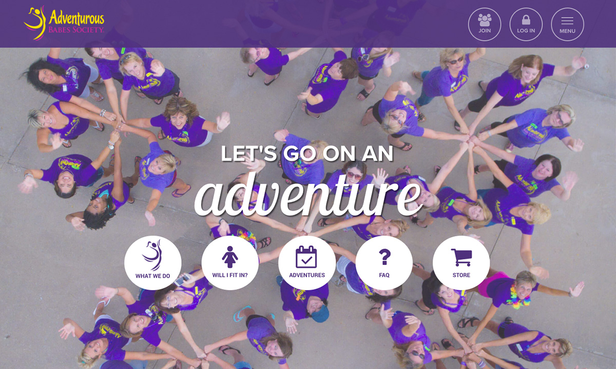 Adventurous Babes Society 2016 Redesign