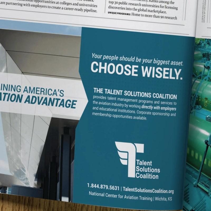 Talent Solutions Coalition Delta Sky Ad