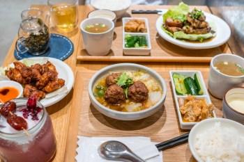 神農生活x食習,百貨複合式商場裡吃一頓台灣味定食,台北中山誠品南西餐廳