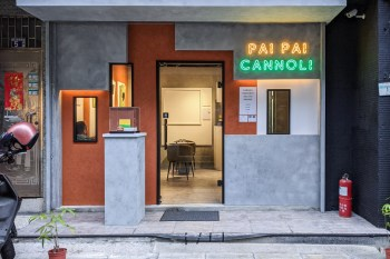 台北中山站-PAI PAI Cannoli,Gelato,義大利卡諾里卷和冰淇淋甜點店,新改裝完有內用座位