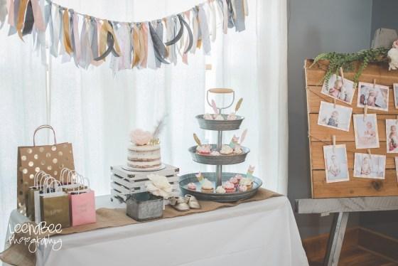 Boho First Birthday Cake Smash Dublin Ohio-1