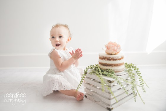 Boho First Birthday Cake Smash Dublin Ohio-15