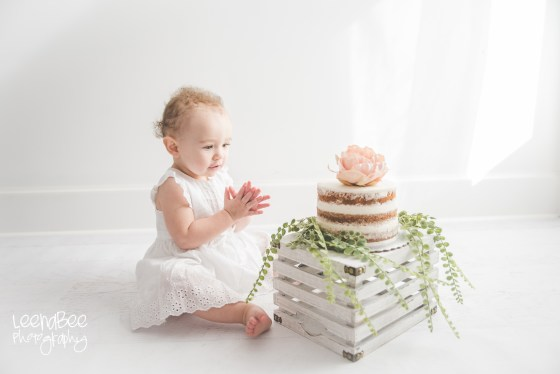 Boho First Birthday Cake Smash Dublin Ohio-16