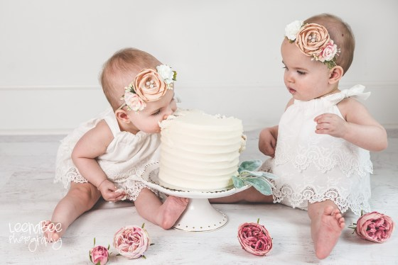 Dublin ohio first birthday cake smash photography-21