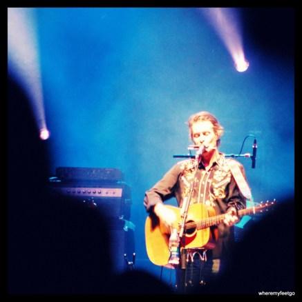 Jim Cuddy and mouth harp. (Ottawa Bluesfest 2011)