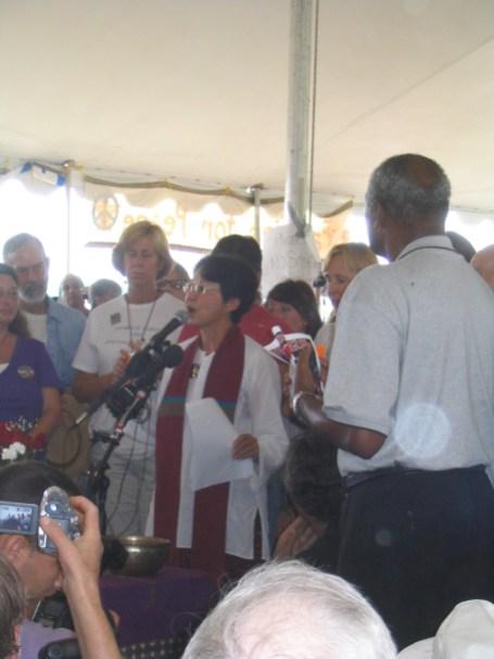 Interfaith Memorial Service 8-28-05