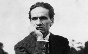 Poeta peruano César Vallejo.