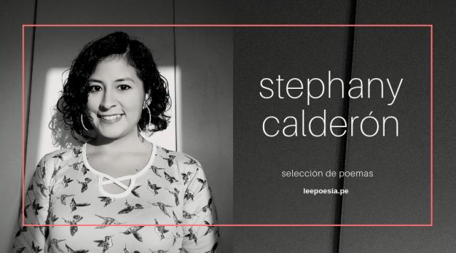 «La noche, el silencio», «Aerosoles del caos» y otros poemas de Stephany Calderón