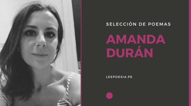 Amanda Durán presenta su obra reunida «Nudo» | + 5 poemas de «Ovulada» y «La Belleza»