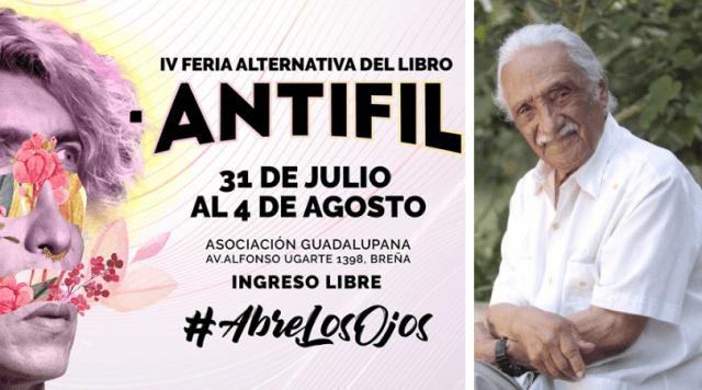 La AntiFil 2019 rendirá homenaje al poeta Leoncio Bueno