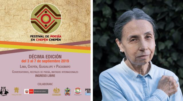 Festival de Poesía en Chepén Chepén tendrá como invitada especial a la poeta Elvira Hernández