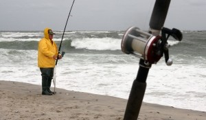 Fisherman on Long Beach Island