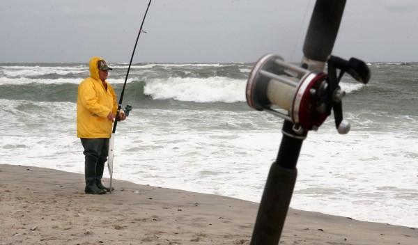 Fisherman on Long Beach Island