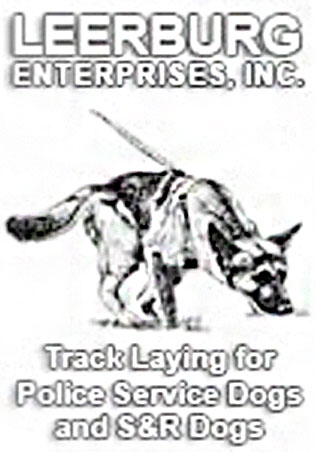 Track Laying for Police Tracking Dogs