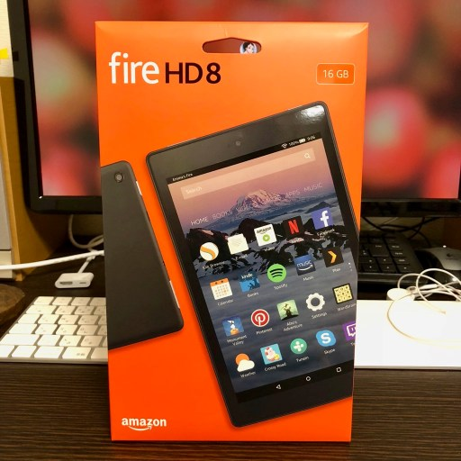Fire HDのパッケージは安っぽいw