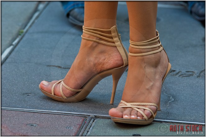 Foot Traffic at the Chinese Theatre
