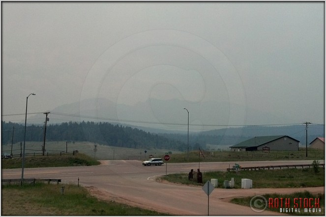 6.24.12 - Waldo Canyon Fire: View of Pikes Peak from Woodland Park (Mobile)