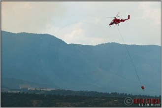 3:31:42pm - Waldo Canyon Fire: Firefighting Helicopter