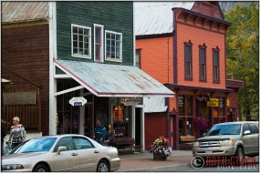 Street Scene, Downtown Crested Butte, Colorado