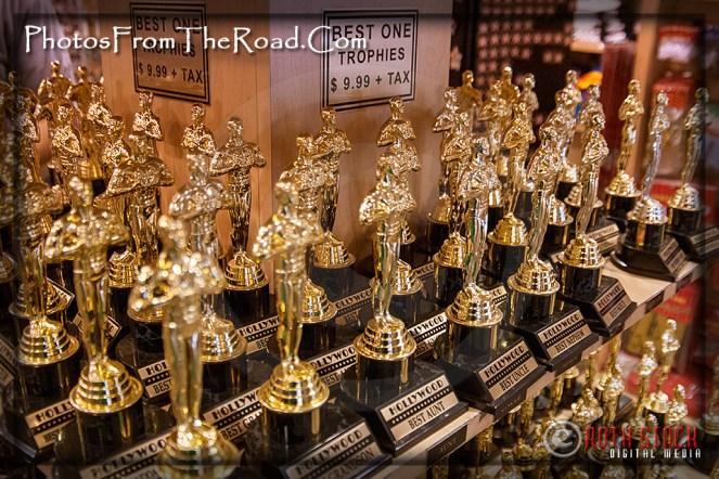 Memorabilia of Hollywood Blvd.