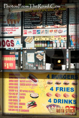 Snack Stand at the Venice Beach Boardwalk