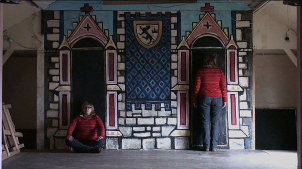 Stage Play - Community Center in Hoy, Orkney Islands, Scotland, 2009