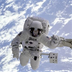 astronaut bone density