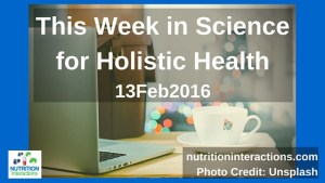Science for holistic health