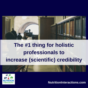 Holistic professional increase credibility