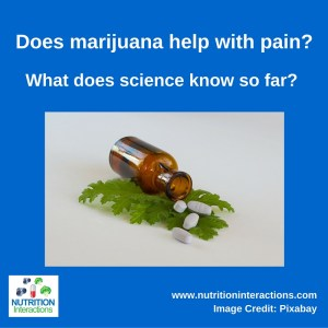 Does marijuana help with pain?