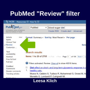 PubMed Review Filter
